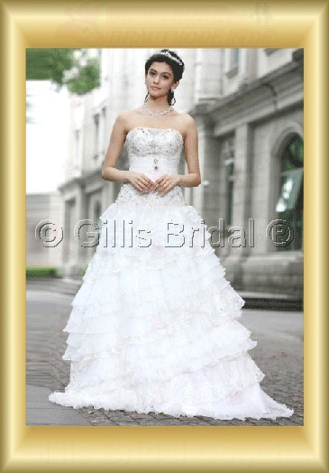wedding dress bridal gown evening Taffeta Strapless Floor-length beads Embroidery beaded Beading embroidery strapless Exquisite 100002