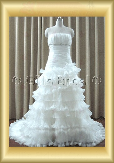 wedding dress bridal gown evening Prom Strapless beads Embroidery beaded Beading embroidery Monarch Royal Exquisite 100099