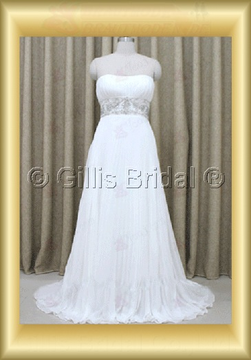 wedding dress bridal gown beads Embroidery beaded Beading embroidery Simple 100212