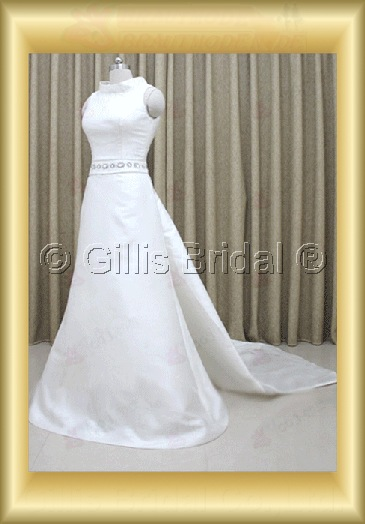 wedding dress bridal gown Beading embroidery Exquisite 100215