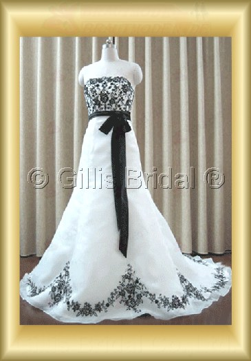 wedding dress bridal gown Applique appliqued appliques Simple 100220