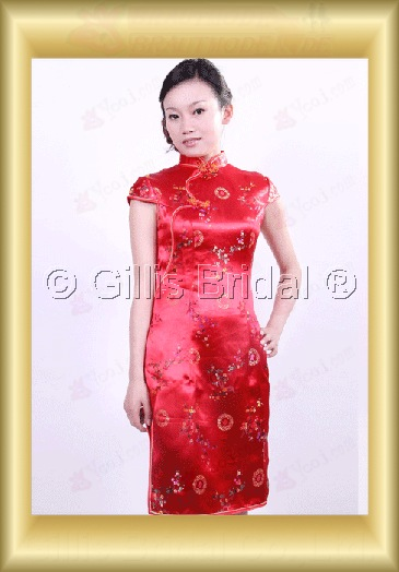 bridesmaid mother of the Knee length leg Open fork Exquisite 100363
