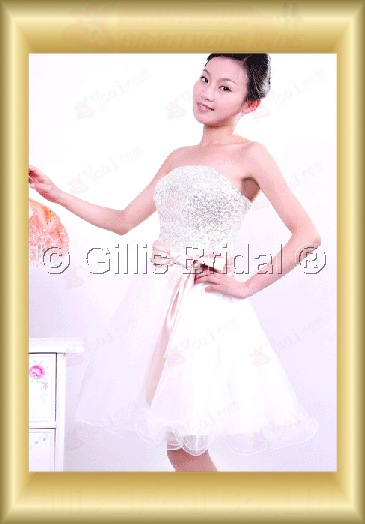 bridesmaid Bowknot Bows Knee length Knee length Exquisite 100364