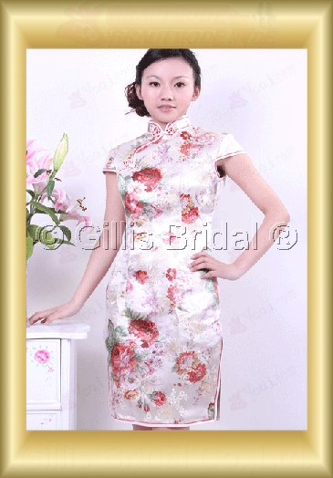 bridesmaid mother of the Knee length leg Open fork Exquisite 100365