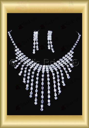 Auxiliary products Bridal Accessories Necklace Jewelry Sets 100402