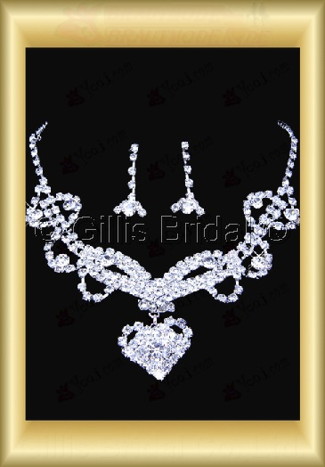 Auxiliary products Bridal Accessories Necklace Jewelry Sets 100404