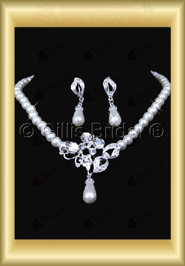 Auxiliary products Bridal Accessories Necklace Jewelry Sets 100405