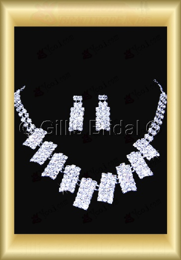 Auxiliary products Bridal Accessories Necklace Jewelry Sets 100406