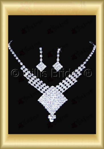 Auxiliary products Bridal Accessories Necklace Jewelry Sets 100408