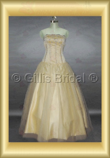 wedding dress bridal gown Beading embroidery Gorgeous floor-length Exquisite 100512