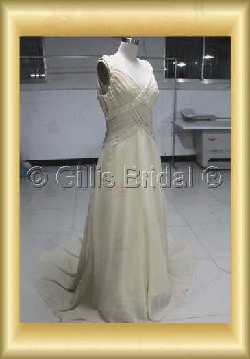 wedding dress bridal gown Beading embroidery pleated ruffle Fold Sweep Brush Exquisite 100578