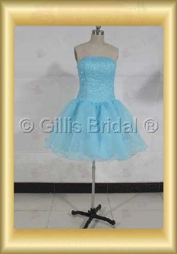 bridesmaid Knee length Sequins bud silk Exquisite 100580