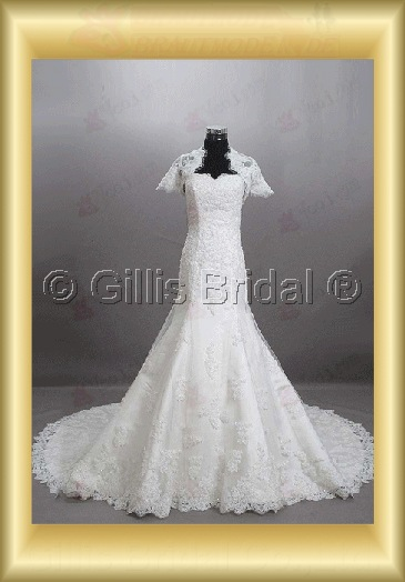wedding dress bridal gown One-shoulder Monarch Royal Exquisite 100587