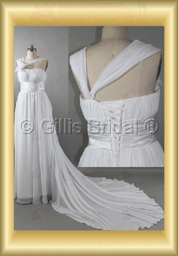 wedding dress bridal gown pleated ruffle Fold Halter Monarch Royal Exquisite 100705