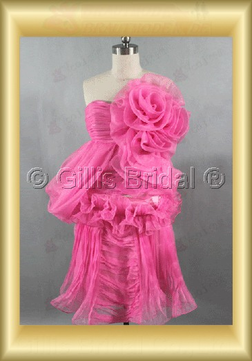 bridesmaid Knee length pleated ruffle Fold Fold Bubble Knee length Exquisite 100710