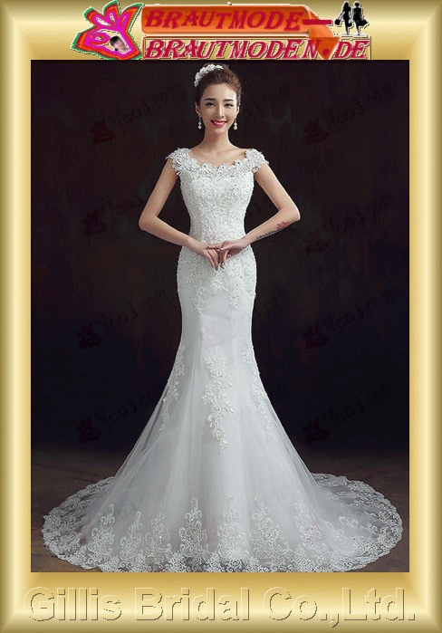 wedding dress bridal gown Bowknot Bows One-shoulder Exquisite 100779