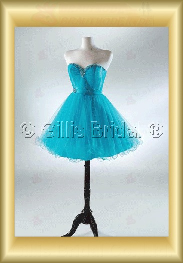 Gillis bridal Wholesale - Fashion Strapless Mini Ruffle Organza homecoming dresses party cocktail dress Wedding Dress Sold by Gillis Bridal Co., Ltd. http://www.gillisbridal.com/ [ admin_ceo@gillisbridal.com ]gillis1213