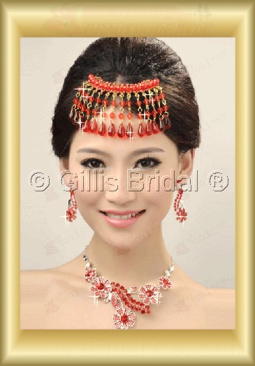 Jewelry sparkle Accessories Necklace Wedding Jewelry Sets 3683