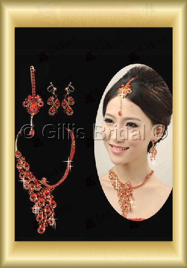 Jewelry sparkle Accessories Necklace Wedding Jewelry Sets 3687