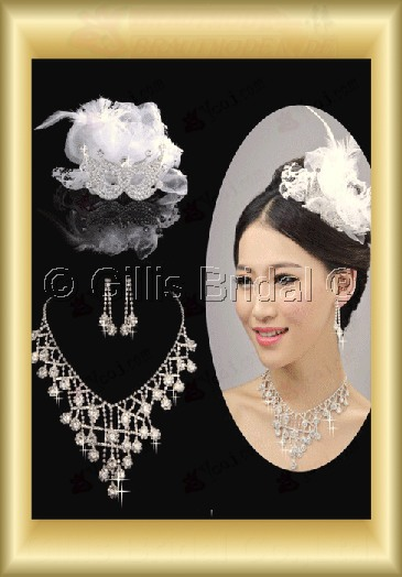 Jewelry sparkle Accessories Necklace Wedding Jewelry Sets 3688