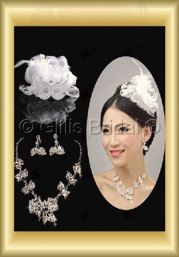 Jewelry sparkle Accessories Necklace Wedding Jewelry Sets 3689