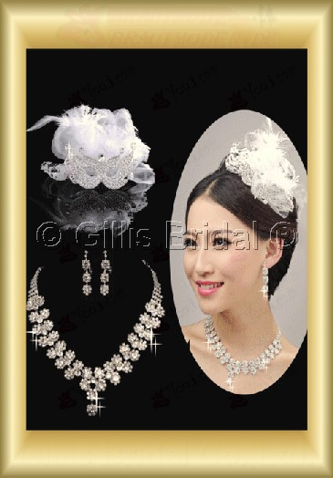 Jewelry sparkle Accessories Necklace Wedding Jewelry Sets 3693
