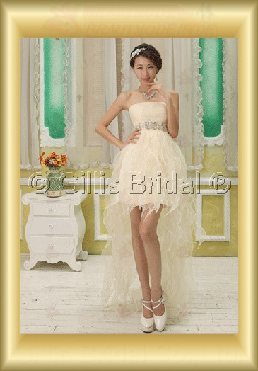 Organza pleated ruffle Fold beads Embroidery beaded Beading embroidery Flouncing floating tablets Hi-Lo Exquisite 3783