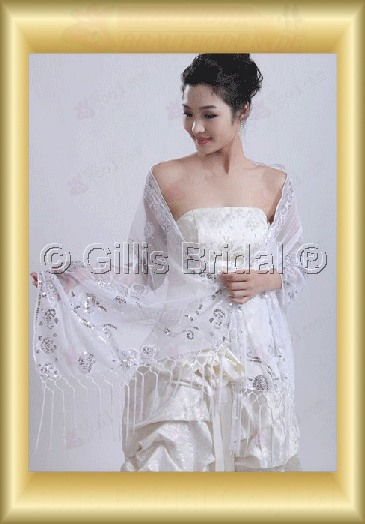 wedding supplies Stole Shawl Bridal Accessories 3807