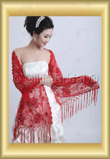 wedding supplies Stole Shawl Bridal Accessories 3810