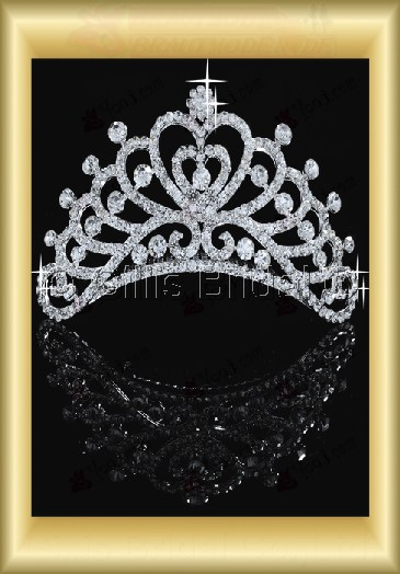 tiara Crown Bridal Accessories Crown Wedding Jewelry Sets 3877