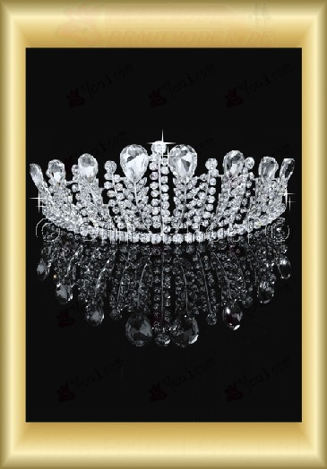 tiara Crown Bridal Accessories Crown Wedding Jewelry Sets 3878