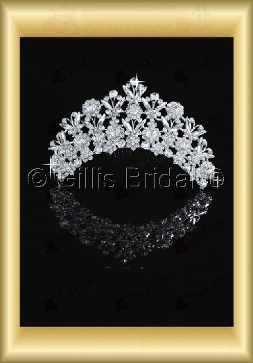 tiara Crown Bridal Accessories Crown Wedding Jewelry Sets 3880