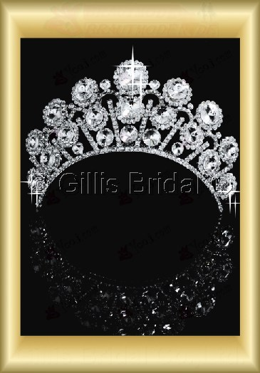 tiara Crown Bridal Accessories Crown Wedding Jewelry Sets 3881