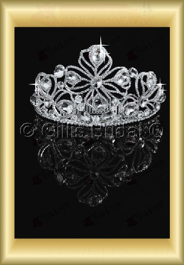 tiara Crown Bridal Accessories Crown Wedding Jewelry Sets 3882