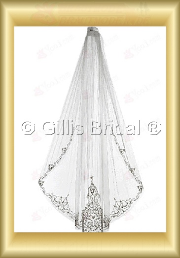 veil Bridal Accessories Bridal Veils 4005