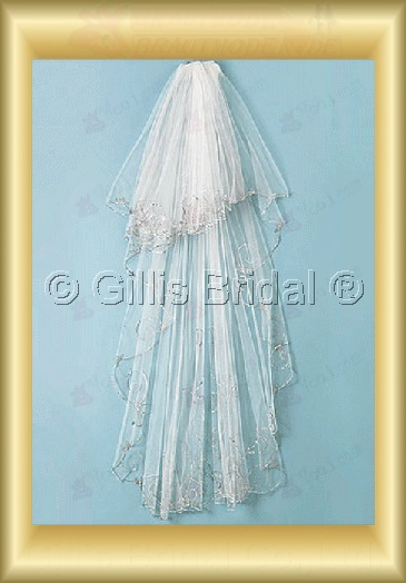 veil Bridal Accessories Bridal Veils 4008