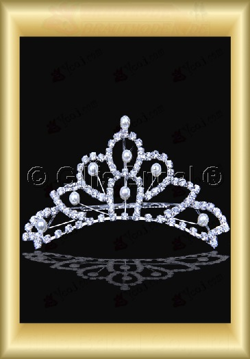 Crown Bridal Accessories Crown Necklace 4015