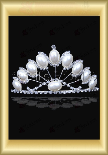Crown Bridal Accessories Crown Necklace 4018