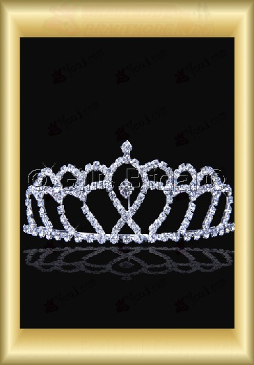 Crown Bridal Accessories Crown Necklace 4024