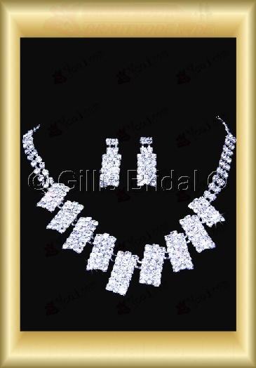 Wedding Accessories Necklace Wedding Jewelry Sets 4036