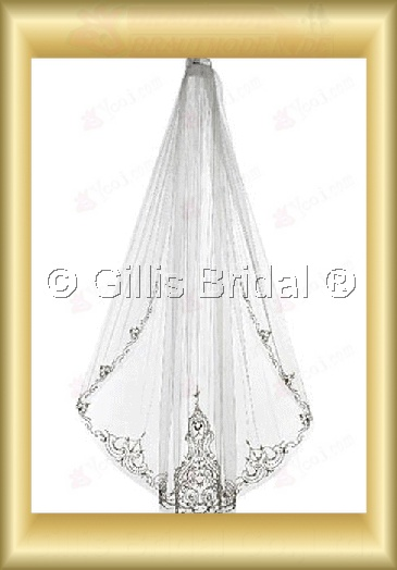 veil Bridal Accessories Bridal Veils 4037
