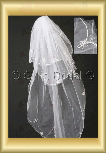 Applique appliqued appliques Veil Bridal Accessories Bridal Veils 4059