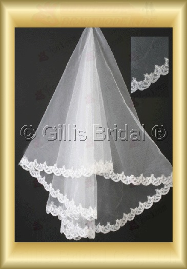 Applique appliqued appliques Veil Bridal Accessories Bridal Veils 4072