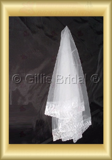 Applique appliqued appliques Veil Bridal Accessories Bridal Veils 4073