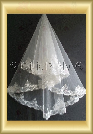 Applique appliqued appliques Veil Bridal Accessories Bridal Veils 4078