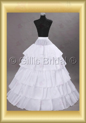 Bridal Accessories Petticoat Petticoats 4182