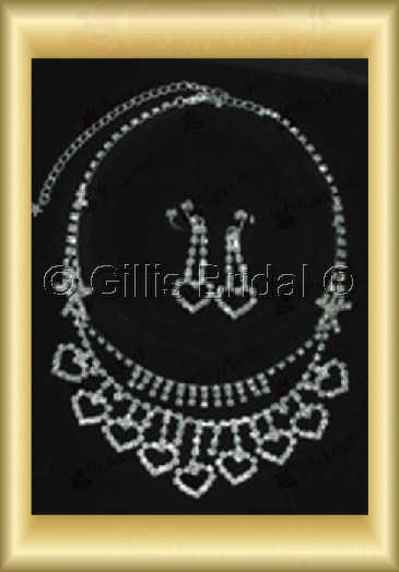 Wedding Accessories Necklace Wedding Jewelry Sets 4228