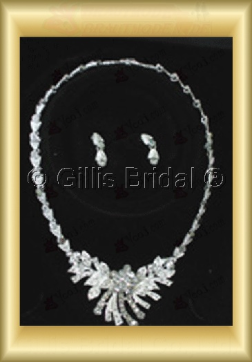 Wedding Accessories Necklace Wedding Jewelry Sets 4233