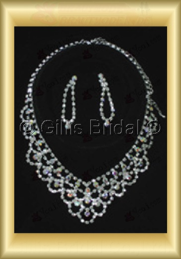 Wedding Accessories Necklace Wedding Jewelry Sets 4235