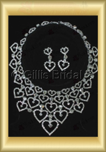 Wedding Accessories Necklace Wedding Jewelry Sets 4236